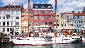 Copenhagen. Summer in Copenhagen, enjoying a stroll along the riverside or simply people watching Royalty Free Stock Images
