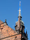 Copenhagen szczegół Denmark do kościoła Zdjęcie Stock
