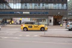 Copenhagen taxi Royalty Free Stock Photography