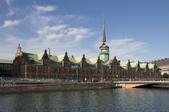 Copenhagen,the Old Stock Exchange Royalty Free Stock Images
