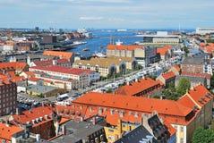 Copenhagen  top-view Stock Photo