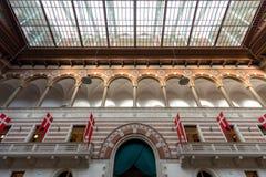 Copenhagen town hall Interior Royalty Free Stock Photography
