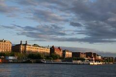 Copenhagen at twilight Stock Photography