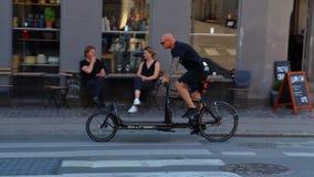 Copenhagen typical bike Royalty Free Stock Photography