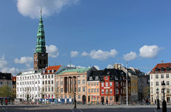 Copenhagen. Ved Stranden Royalty Free Stock Photo