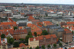 Copenhagen, view from above Royalty Free Stock Photos