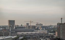 Copenhagen view. Copenhagen city on 2015 July Stock Images