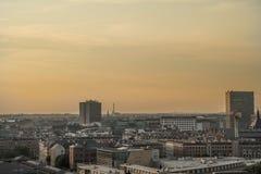 Copenhagen view. Copenhagen city on 2015 July Royalty Free Stock Images