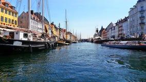 In Copenhagen. On the waterways of Copenhagen Stock Image