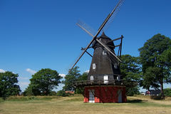 Copenhagen windmill royalty free stock images