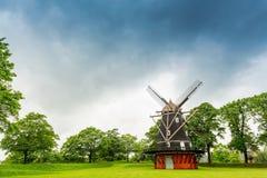 Copenhagen windmill at Kastellet Stock Images