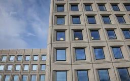 Copenhaghen, Danimarca - costruzioni e cieli blu Immagini Stock Libere da Diritti