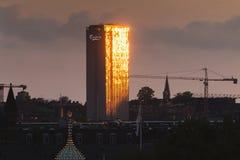 Copenhaghen, la Zelanda/Danimarca - 27 giugno 2019: Le sedi della società di Carlsberg nella capitale della Danimarca fotografie stock
