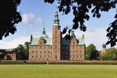 Copenhague - château de Rosenborg Image libre de droits
