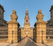 Copenhague, Danemark - octobre 2018 : Le palais de Christiansborg à Copenhague contient le Parlement danois Folketinget, photos libres de droits