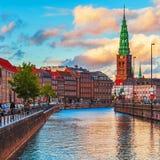 Copenhague, Dinamarca Imágenes de archivo libres de regalías