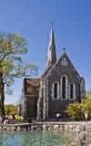 Copenhague, Dinamarca, St Alban' iglesia del inglés de s Fotografía de archivo