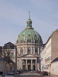 L'église de marbre Image libre de droits