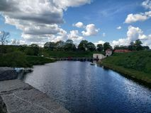 Copenhague y sus parques foto de archivo