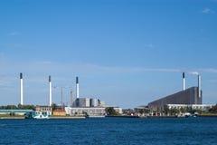 Copenhill-современная водоочистительная станция стоковая фотография rf