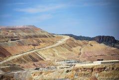 Coper mine 2 Royalty Free Stock Photo