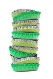 Coperchi d'equilibratura della bottiglia Fotografie Stock Libere da Diritti