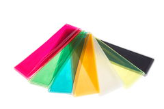 Coperchi della plastica di colore Fotografia Stock Libera da Diritti