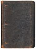Coperchio antico del raccoglitore Fotografie Stock