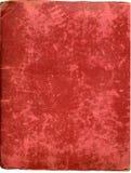 Coperchio antico dell'album della peluche Immagini Stock Libere da Diritti
