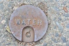 Coperchio dell'acqua Fotografia Stock
