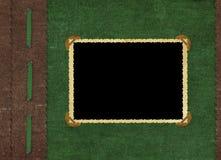 Coperchio dell'annata per un album con le foto Immagini Stock Libere da Diritti