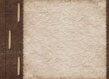 Coperchio dell'annata per un album con le foto Fotografia Stock