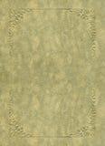 Coperchio dell'oggetto d'antiquariato Immagine Stock