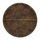 Coperchio della fogna della città (serie della botola) Immagini Stock Libere da Diritti