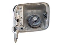 Coperchio della protezione di benzina immagini stock