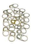 Coperchio di alluminio Immagini Stock