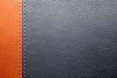 Coperchio di cuoio del libro immagini stock