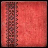 Coperchio di tela di canapa - album 1 Fotografia Stock