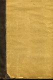 Coperchio di vecchio libro Fotografia Stock