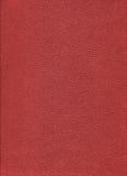 Coperchio duro del libro rosso Immagine Stock