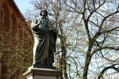 Copernicus monument in Torun Stock Photo