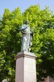 Copernicus Monument in Torun, Poland Stock Photo
