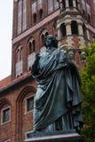 Copernicus staty Arkivbild