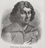 Copernicus van Nicolaus Royalty-vrije Stock Afbeeldingen
