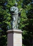 copernikus尼古拉斯雕象 免版税库存照片
