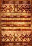Coperta africana Immagini Stock