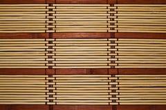 Coperta di bambù Fotografie Stock