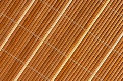 Coperta di bambù Fotografie Stock Libere da Diritti