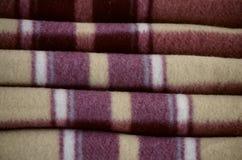 Coperta di lana calda Fotografia Stock Libera da Diritti