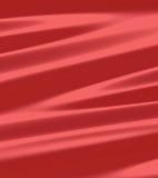 Coperta di tela di seta rossa del metallo Immagini Stock Libere da Diritti